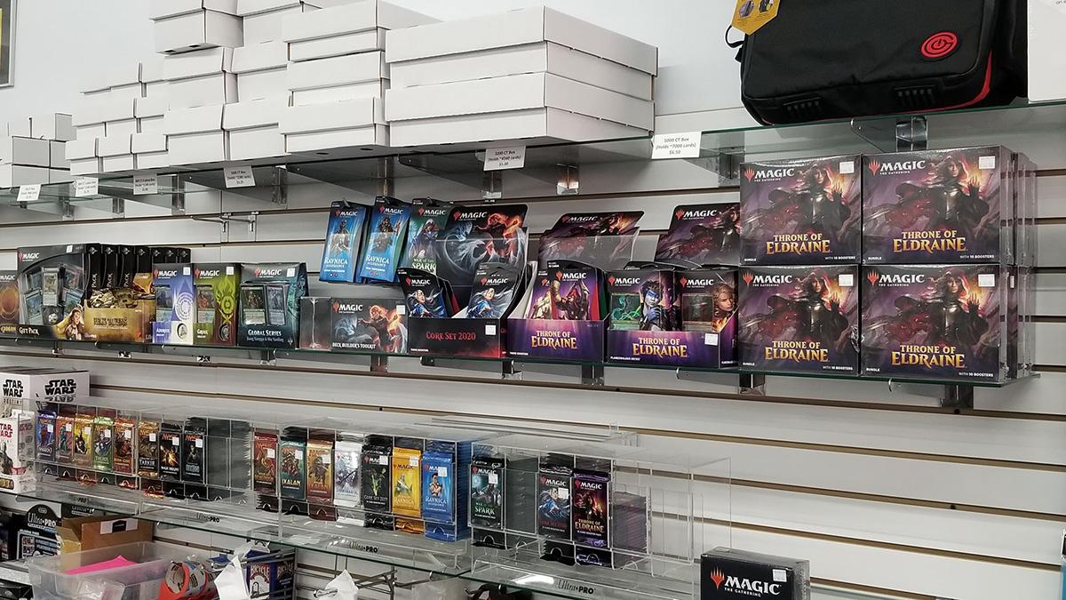Magic: the Gathering Shelves
