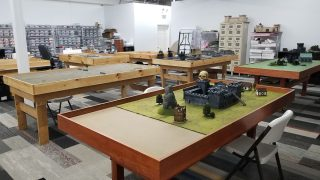 More Wargaming Tables