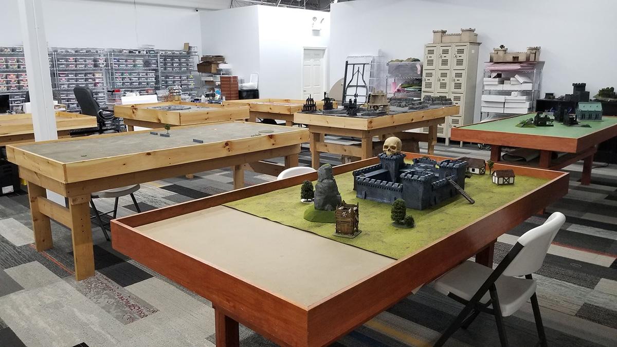 Wargaming Tables