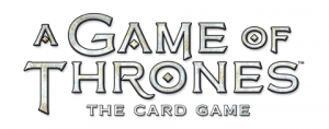 A Game of Thrones text logo