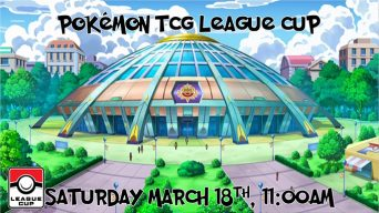 Pokemon Sun and Moon League Cup Banner
