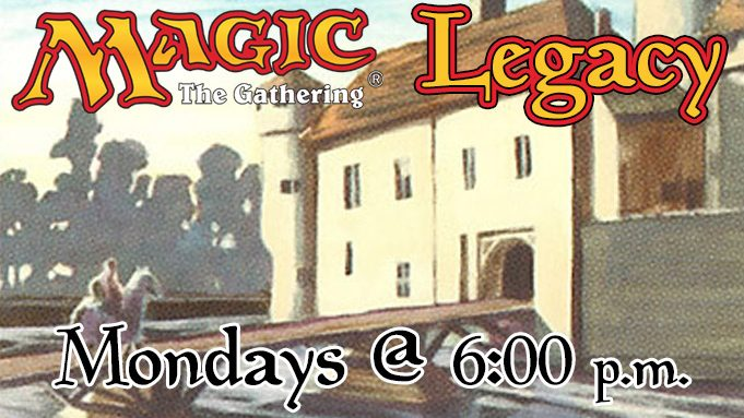 Magic: the Gathering Legacy Event Advertisement