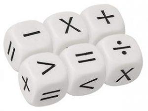 Math Operator Dice