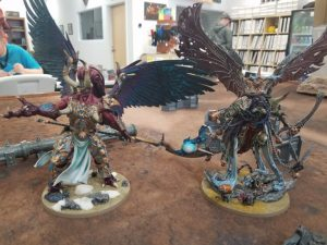 Mortarion and Magnus