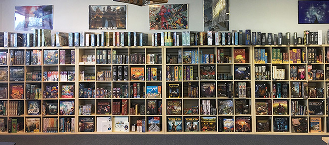 Nashua Main Board Game Wall