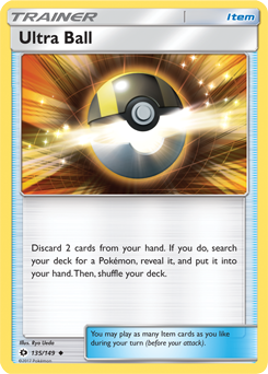 Ultra Ball Pokemon Card