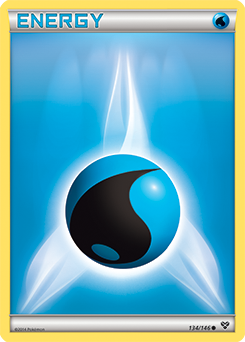 Basic Water Energy Pokemon Card