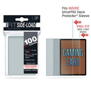 Ultra-Pro Pro-Fit Side-Load Deck Protector Sleeves