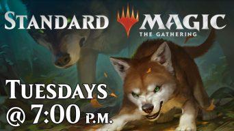 Standard Magic: the Gathering Advertisement