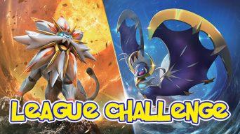 Pokemon Sun & Moon League Challenge Banner