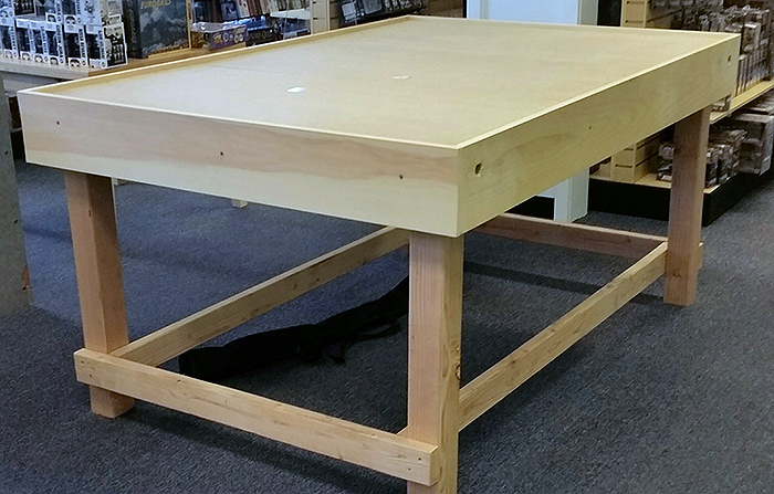 One of our wargaming tables built by some great customers