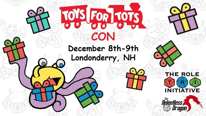 Toys for Tots Con Banner