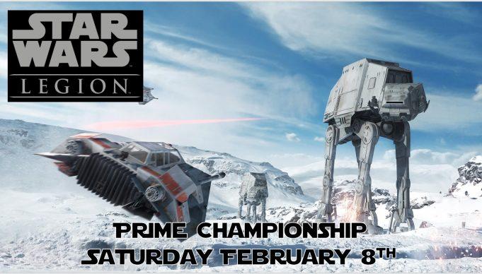 Star Wars Legion Prime Championship Advertising Banner