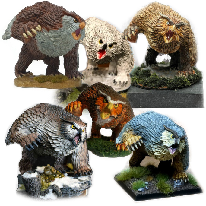 Owlbear Collage