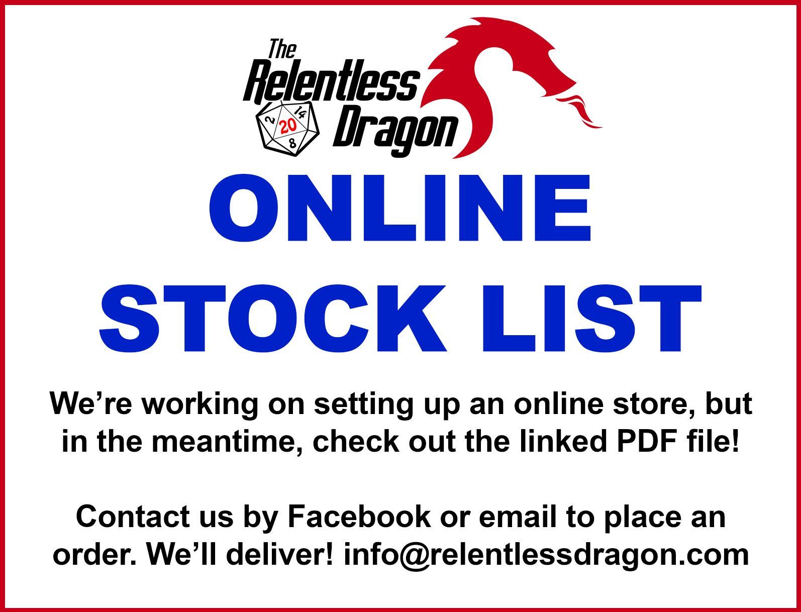 Online Stock List