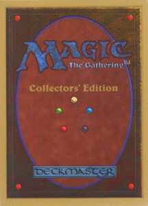 Magic: the Gathering Card Back - Collector's Edition
