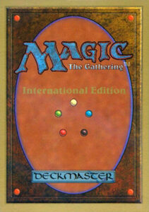 Magic: the Gathering Card Back - International Edition