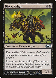 Magic: the Gathering Card Front - Basic Black Border