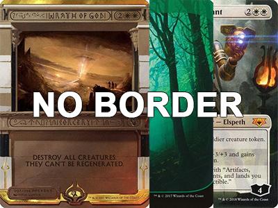 Magic: the Gathering Card Front - Borderless