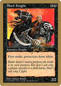 Gold Front Bordered Magic: the Gathering Card